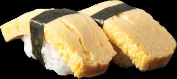 Sliced Omelet Sushi