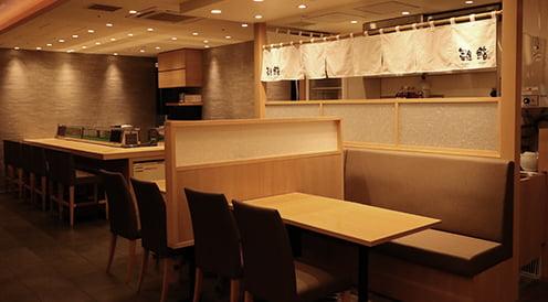 寿司食べ放題の雛鮨 上野の森さくらテラス店の外観