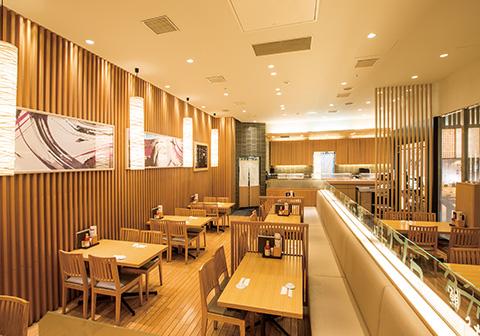 寿司食べ放題の雛鮨 新宿マルイアネックス店の内観