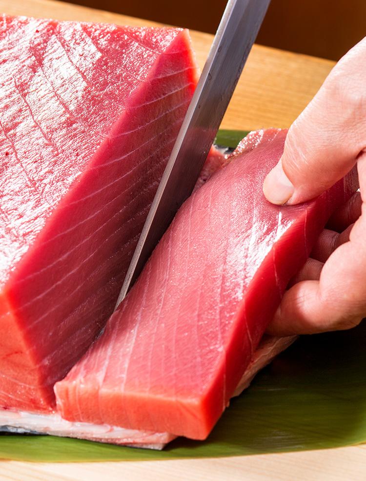職人が吟味した魚